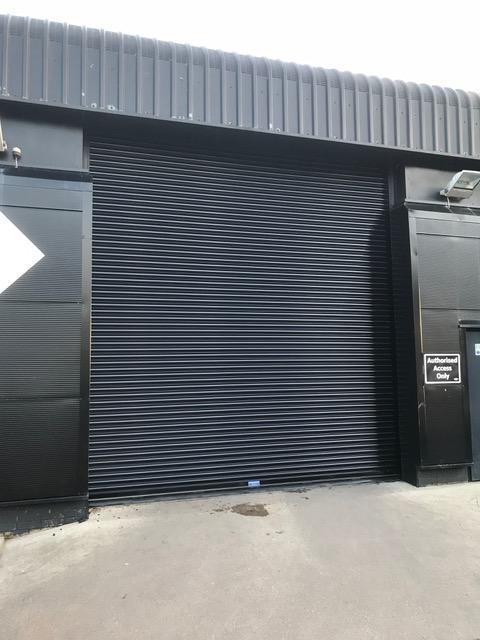 Roller door install Mini
