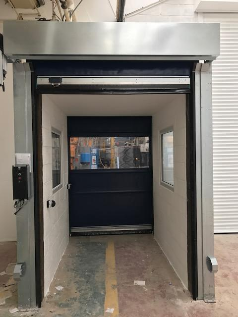 Commercial Door Services install specialist door, airlock